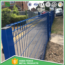 Garden Decoration Color Painted double loop ornamental fence Roll Top Playgound Fencing