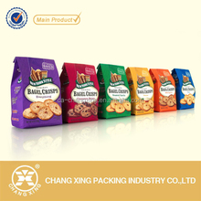 Fob shantou pillow bag metallized plastic snack/nut/crisp pouch food packaging pouch bags