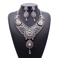 Hot fashion jewelry set collares de moda 2015 china's alibaba