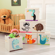 2017 Hot Selling Eco-Friendly And Folding Clothes Storage Box, toy storage bin cotton canvas storage bin