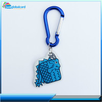 China supply customized smart crystal card/rfid key fob epoxy