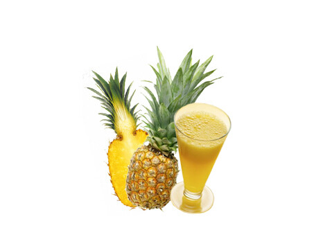 Pineapple juice concentrate for bubble tea