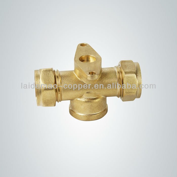 LDM-BF210 Brass Compression Fitting for Copper Pipe