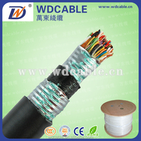 Underground jelly filled multipair telephone cable outdoor
