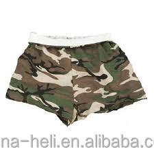 Women shorts camouflage printed