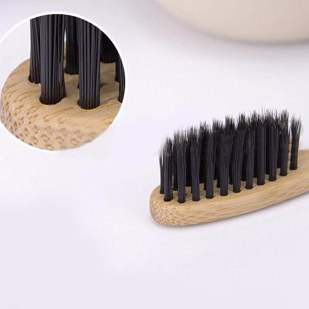Customize Packaging Brand Hot Selling Eco-Friendly Adult Soft Bristles Bamboo Charcoal Toothbrush FBA Shipping