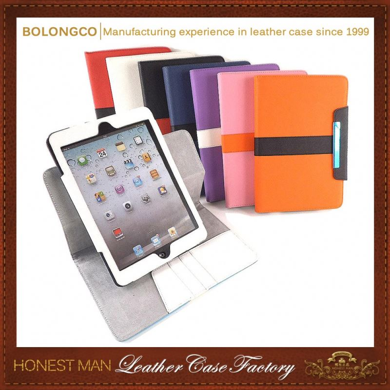 Nice Factory Price Pu For Ipad Air2 Case