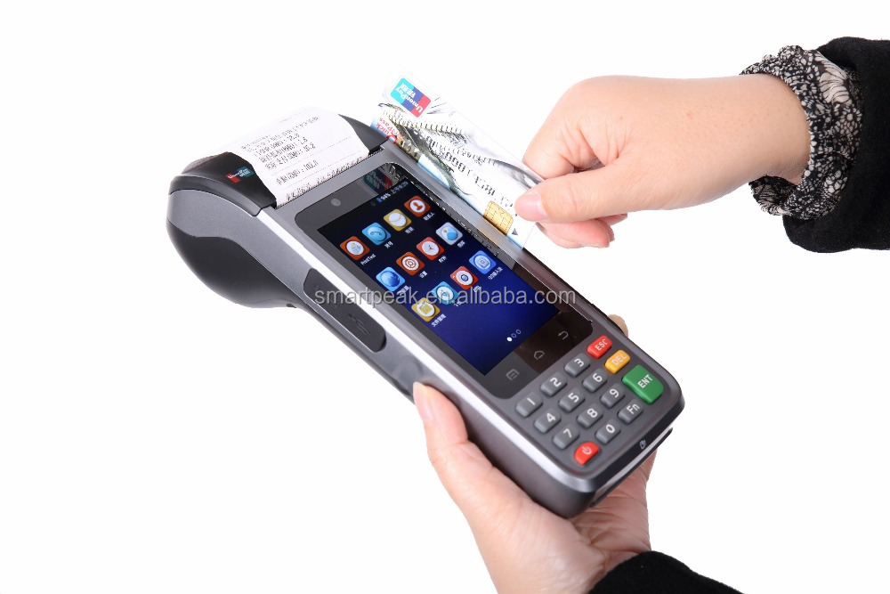 Android all in one handheld POS Equipment, Trade, Installation, Planning and Management Equipment and network diagnostics