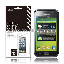 Samsung i9000 Galaxy S Crystal Clear Screen Protector oem/odm