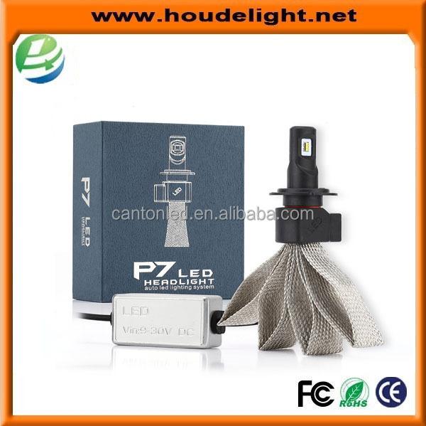 Factory Wholesale New Powerful Car LED Headlight P7 H7 30W 9200LM Car Styling Auto LED Headlamp