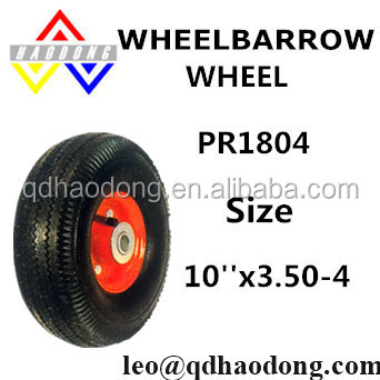 10x3.50-4 Hand trolley wheel for sale