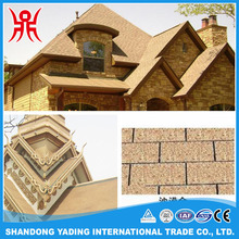 3-tab asphalt roof tile/laminated bitumen roof shingle/fish-scale asphalt shingles