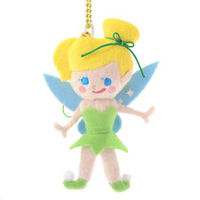 Plush Strap and Key Chain Tiny Tinker Bell Store Japan 2016