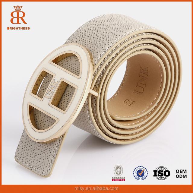 Men belt with alloy buckles latest design leather belt men's fashion belt