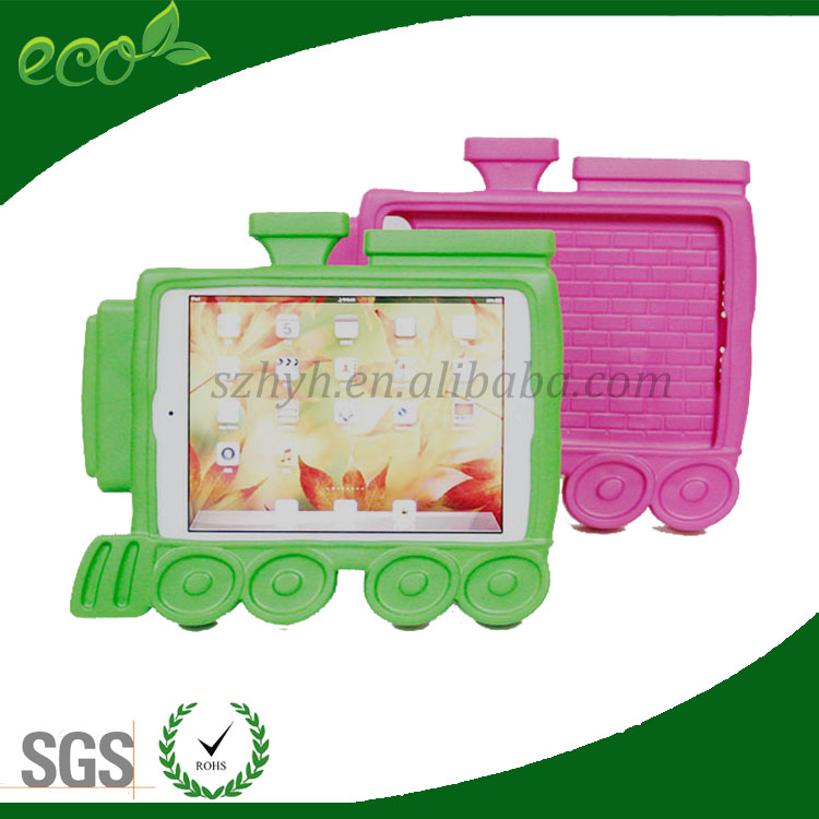 waterproof kids protect train design neoprene tablet case EVA foam tablet case EVA tablet cover for ipad mini