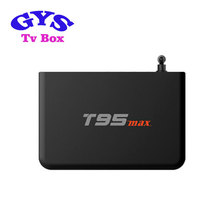 2016 New T95 max Android TV BOX Quad core 2GB / 32GB Amlogic S905 2.0Ghz Android 5.1 OTT TV BOX