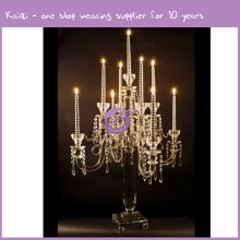 k9462 crystal bling crystal candle holder wedding centerpieces