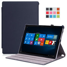 OEM High Quality Ultra slim Protective Shockproof Holder stand Case Flip Tablet Case cover for Microsoft Surface Pro 4