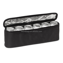 Beer Can Advertising 6 Pack Insulated Waterproof Beer Can Cooler Bag