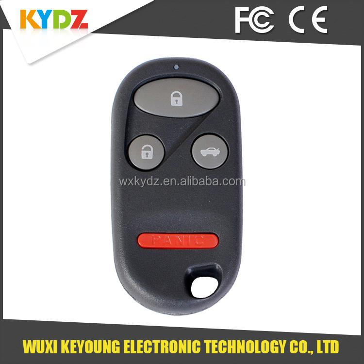 2000-2006 A269ZUA101 4 button wholesale lost car key for Honda /Insight