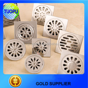 bathroom accessories stainless steel floor trap grating floor drain grating manufacturers