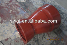EN598 DCI double socket reducer for Sewage drainage water Pipeline