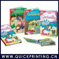 China cheap full color hardcover child book printing