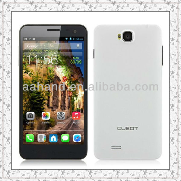Cubot T9 Smartphone 1920 x 1080 pixels FHD screen 5.0 Inch OGS Screen MTK6589T Android 4.2 16GB 8.0MP Front Camera