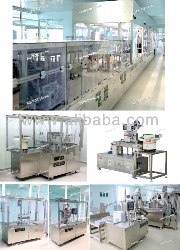 Blood Collection Tube Assembly Machine Line