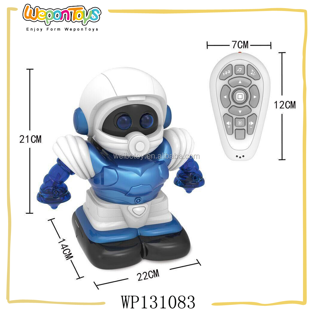 wholesale automatic playing 4 channel electronic robot toy dog with music