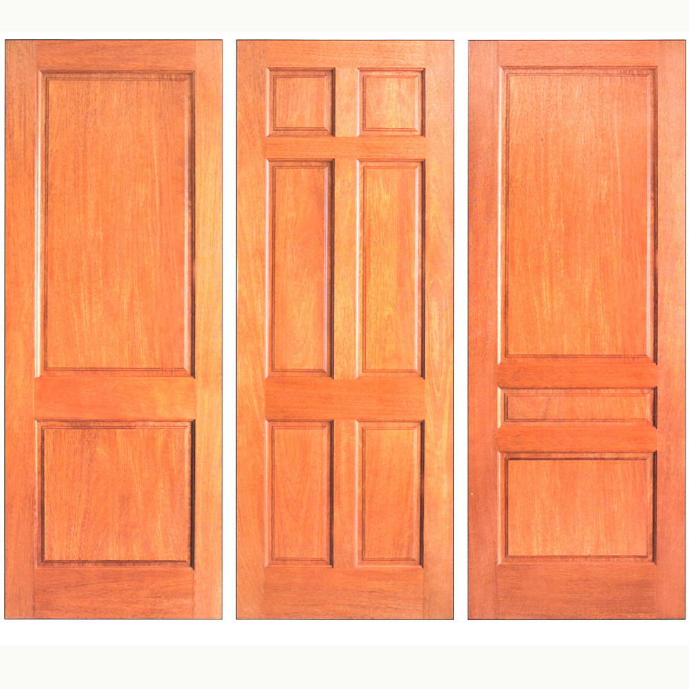 Hot sale knotty pine wood door manufacturer with high quality