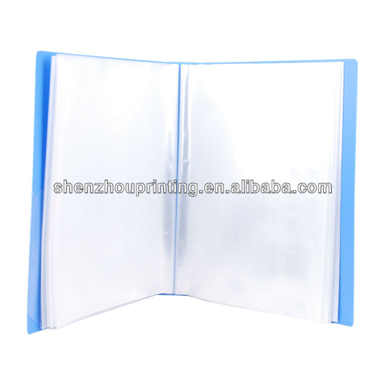 hot selling a5 clear book cover