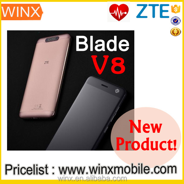 2017 New!original ZTE Blade V8 5.2inch 1080P 3GB Ram 32GB Rom snapdragon 435 in Belgium cell phone sample available