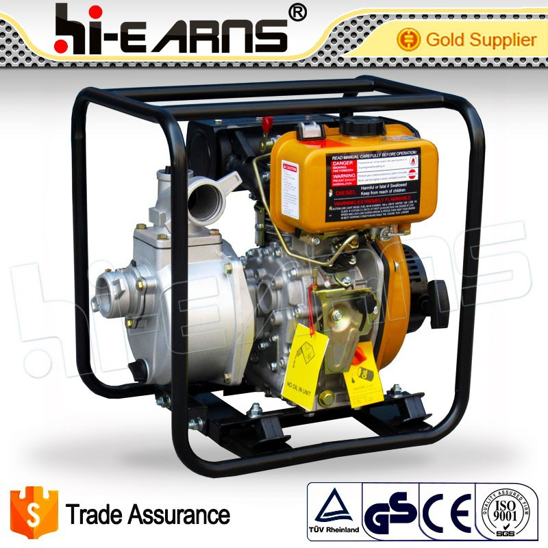 Hot sale 2inch electric diesel water pump with 20AH battery