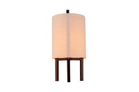 modern wooden base table lamp, classic floor standing lamp for indoor use