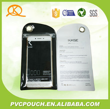 Hot selling Factory shenzhen PVC mobile phone bags accessories