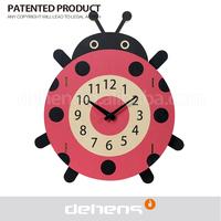 Deheng creative art wood clock 1104.04 gift animals clock