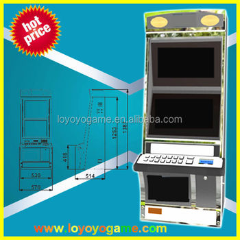 high quality slot game machine for casion metal cabinet