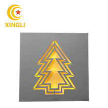 2018 Most popular Tree shaped wooden decorative led lights box in factory linhai zhejiang China