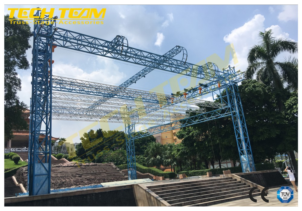 11 Years Truss Factory Experience Mainly Exported Aluminum Truss, Lighting Truss On Sale