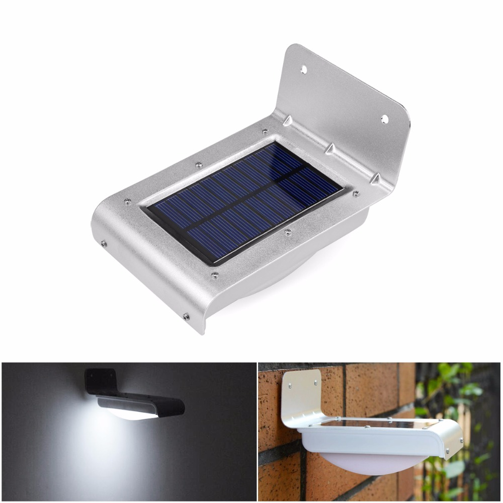 STL 2PCS/lot Free Shipping PIR Motion Sensor LED Solar Lamps Solar Power Charge Light Waterproof Oudoor Pathway Wall lamp lighti