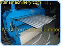 LMS automaticlly corrugated Tile metal aluminum roof tile roll forming machine
