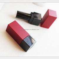 custom cosmetic packaging plating bullet empty lipstick tube