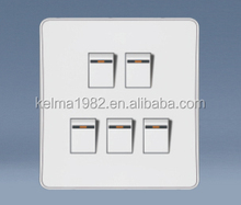 KW-031 5 gang 1 way switch