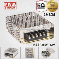 Reliable Quality led driver CE 3A 35W 12V / 36w 12v Switching Power Supply(NES-35-12)