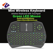 New products 2.4g wireless keyboard with mouse combo model i9 i8 i8+ A8 fly air mouse workingwith tv box