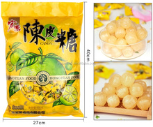 Throat Clearing Chinese Flavor Sweet Hard Candy Natural Delicious Hard Tangerine Peel Candy