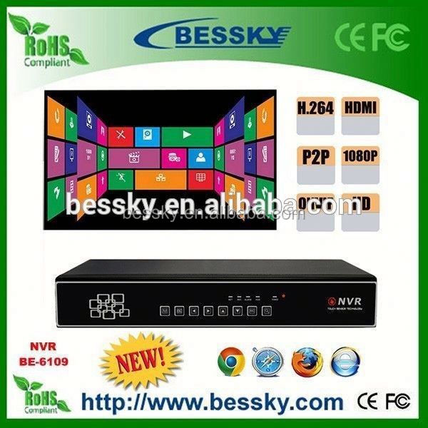 Bessky hot sale model 3g WIFI P2P NVR school bus mobile nvr