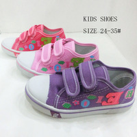 HH0831-5 Latest design girls walking casual canvas shoes for kids