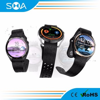 SMA-S3 Android 5.1Smart Watch MTK6580 Solution 1.39 Amoled Screen support WIFI/ 3G / SIM card / GPS/ google play